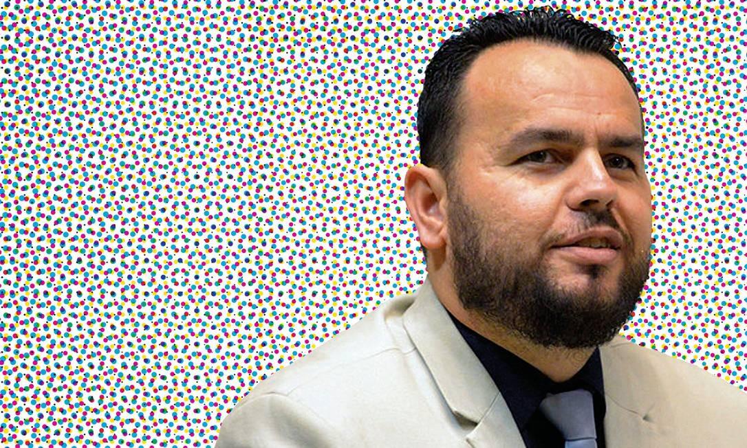 """CONHECIDO COMO """"CARTEIRO REAÇA"""", O DEPUTADO GIL DINIZ (PSL-SP) É UM DOS PRINCIPAIS ALIADOS DA FAMÍLIA BOLSONARO. (FOTO: ASSEMBLEIA LEGISLATIVA DO ESTADO DE SÃO PAULO) Foto: Agência O Globo"""
