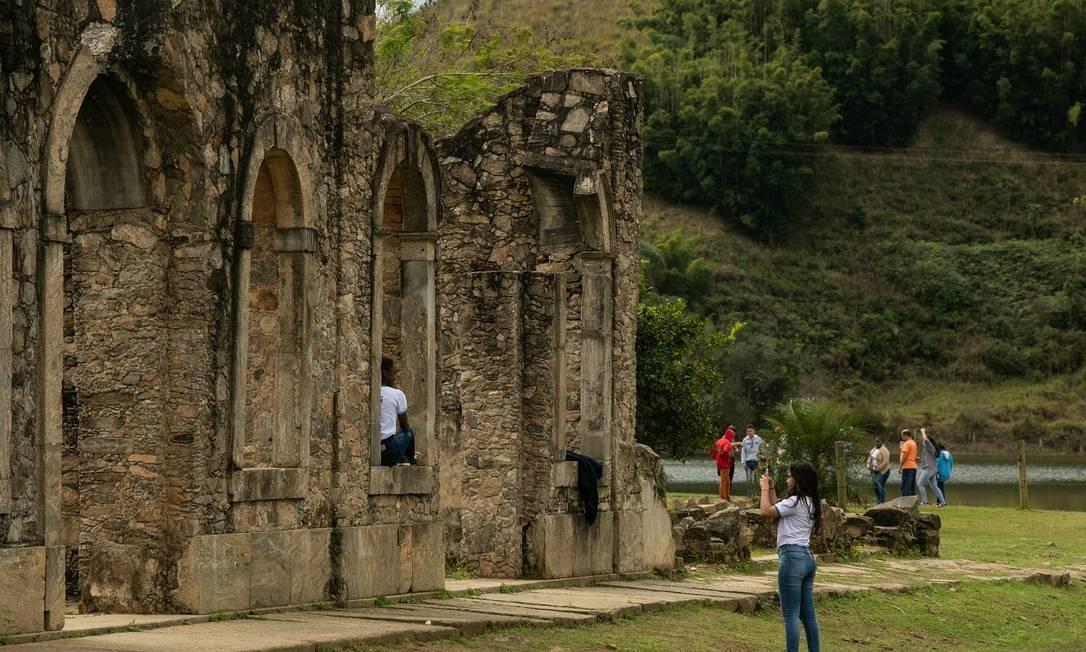 Parque Arqueológico e Ambiental de São João Marcos Foto: Brenno Carvalho / Agência O Globo