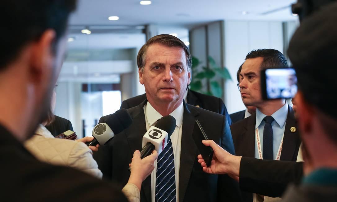 O presidente da República, Jair Bolsonaro 24/10/2019 Foto: Divulgação