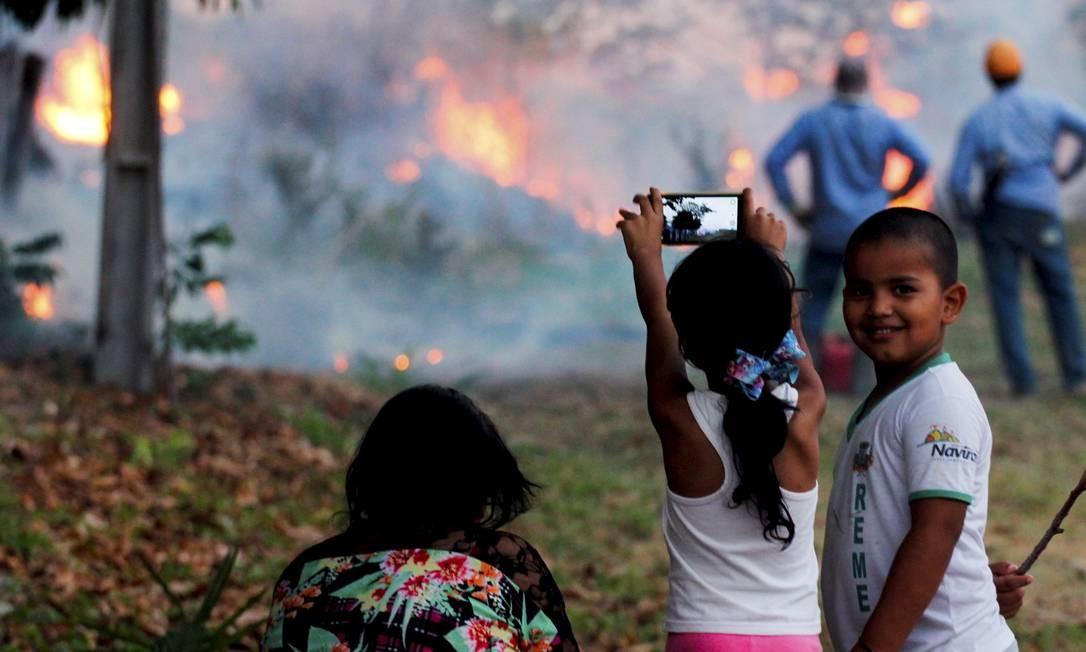 Instituto Nacional de Pesquisas Espaciais (Inpe) registrou 8.479 focos de incêndio no Pantanal de janeiro até agora Foto: Chico Ribeiro / Governo do Estado do MS