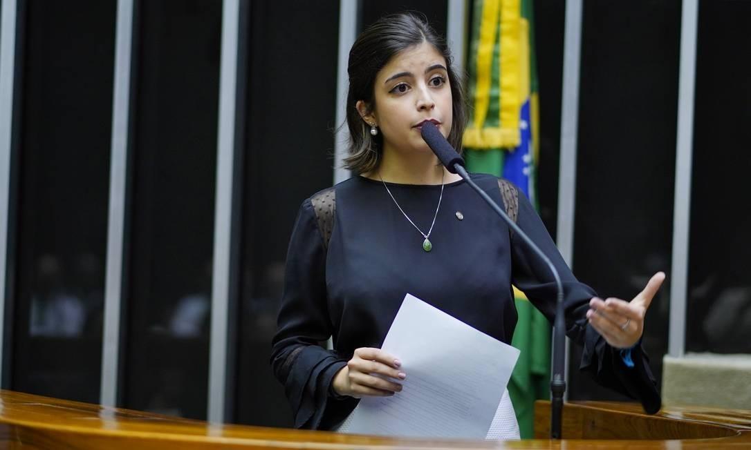 A deputada federal Tabata Amaral (PDT-SP) Foto: Pablo Valadares / Agência Câmara