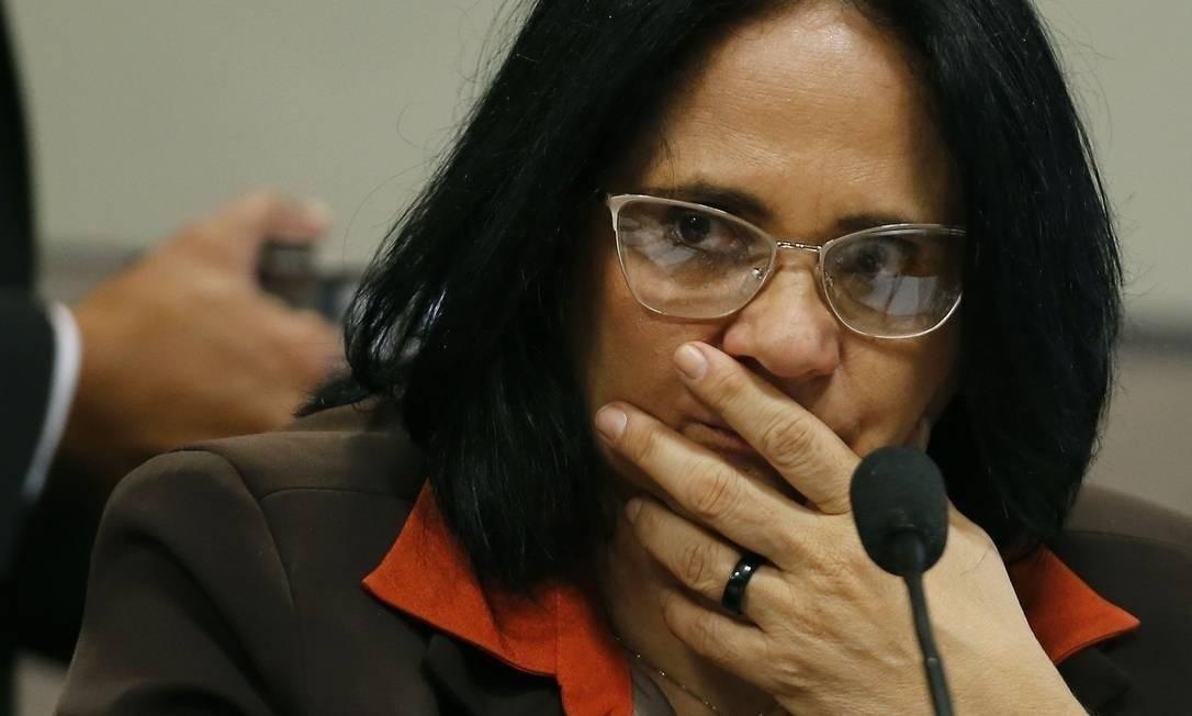 A ministra Damares Alves Foto: Jorge William/21-2-2019