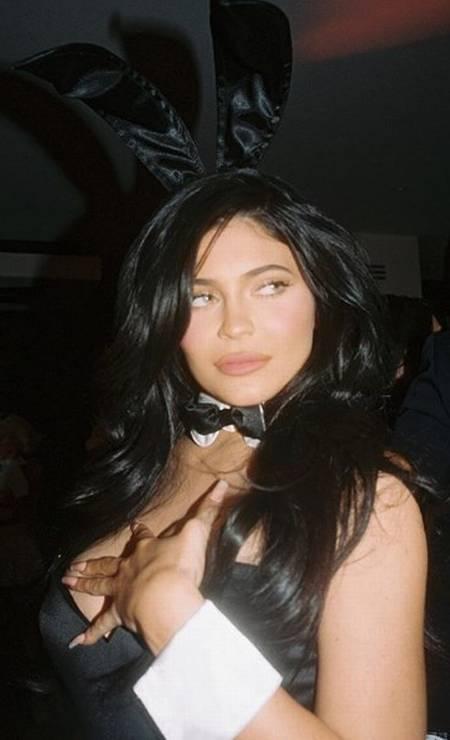 Kylie de coelhinha Foto: Reprodução/ Instagram