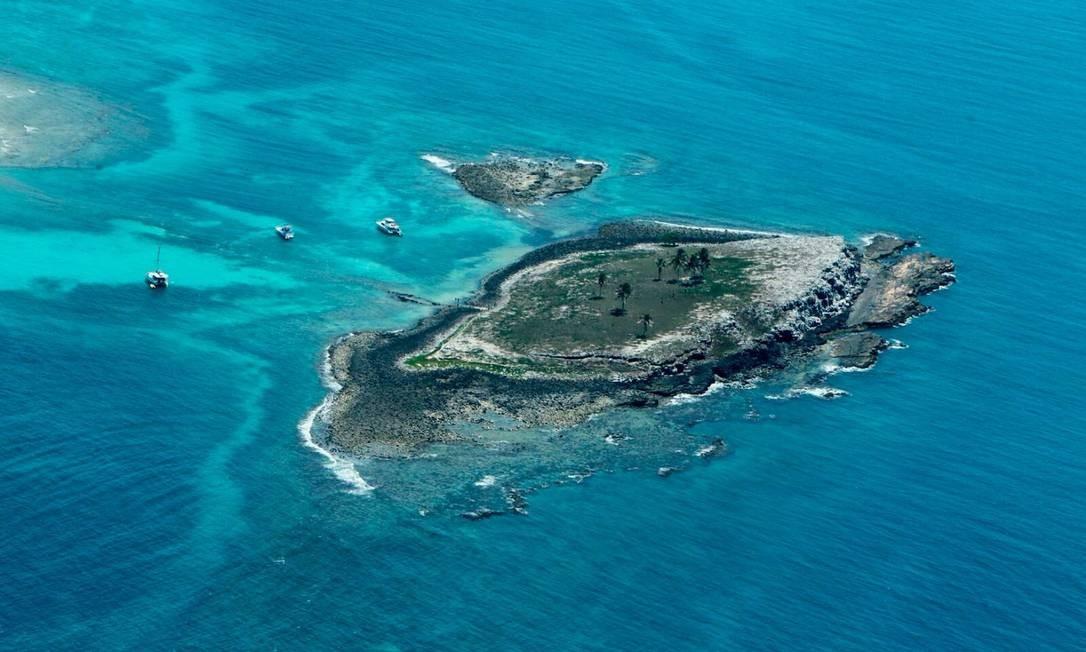Arquipélago de Abrolhos, na Bahia. Foto: Manu Dias / GOVBA Foto: Agência O Globo