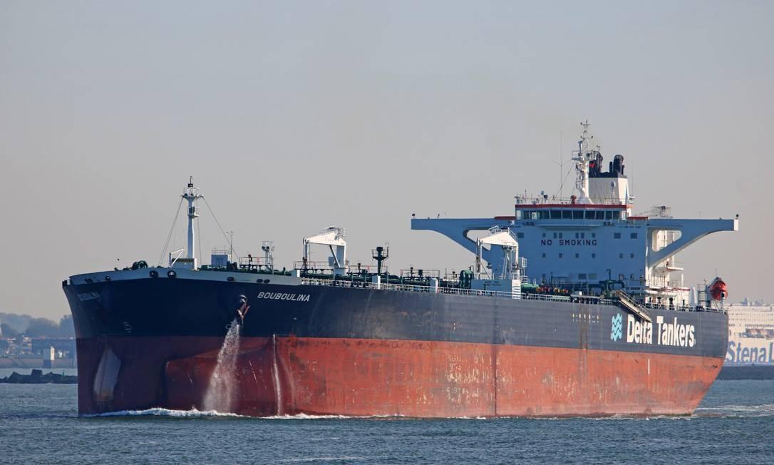 Navio Bouboulina em Rotterdam, na Holanda Foto: HANNES VAN RIJN / Shipspotting/31-10-2018