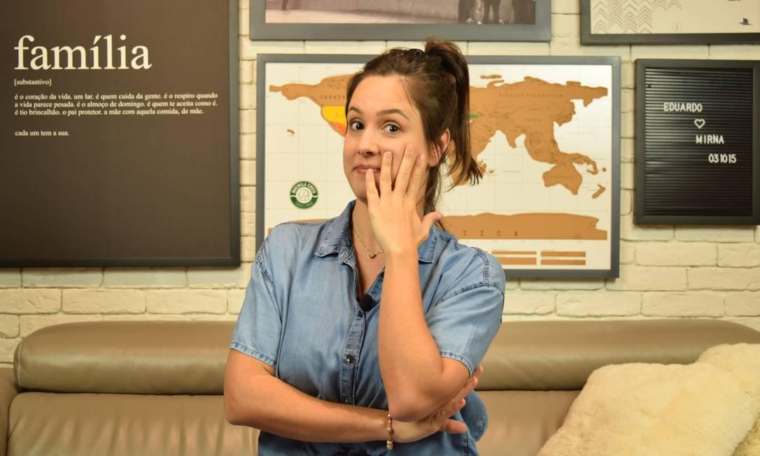 Mirna Borges, influencier no Youtube, dá educação financeira para evangélicos. Divulgação