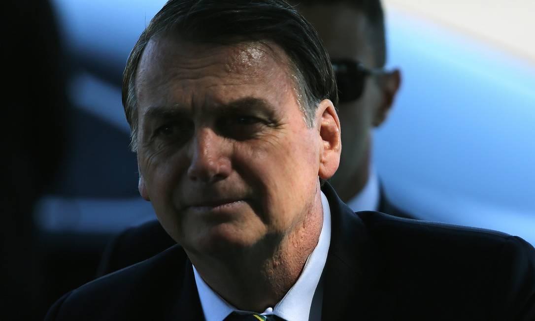 O presidente Jair Bolsonaro 01/11/2019 Foto: Jorge William / Agência O Globo