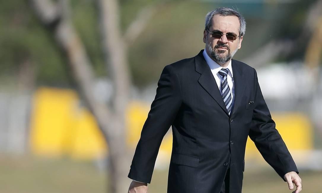 Ministro da Educação, Abraham Weintraub Foto: Jorge William / Agência O Globo