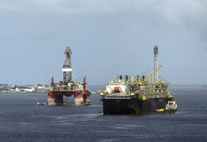 Retomada da cadeia de óleo e gás aumenta as perspectivas de recuperação da economia do Rio Foto: Gabriel de Paiva / Agência O Globo
