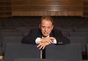 Miguel Proença também foi diretor da Sala Cecília Meireles, no Rio de Janeiro Foto: Infoglobo