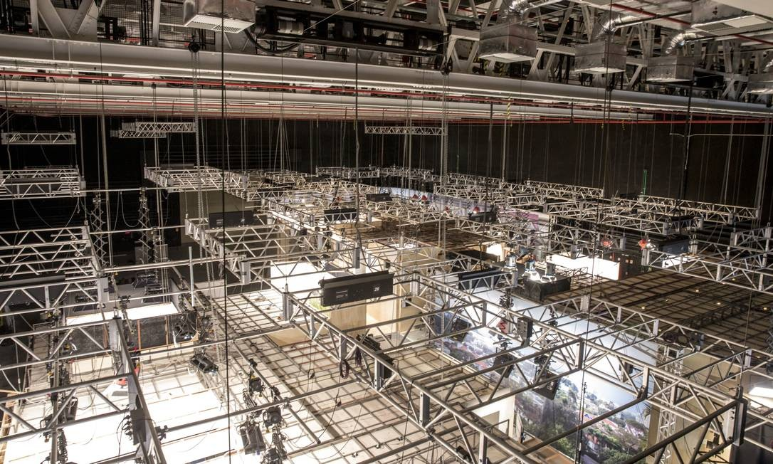 """Por dentro do MG4: megainfraestrutura proporcionará maior liberdade criativa e público deve sentir impacto com a estreia de """"Amor de Mãe"""", primeira novela gravada no novo complexo de estúdios Foto: João Cotta / TV Globo"""