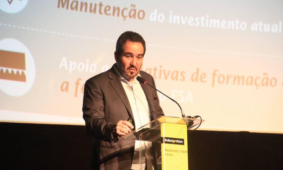 Christian de Castro está afastado da presidência da Ancine Foto: Infoglobo