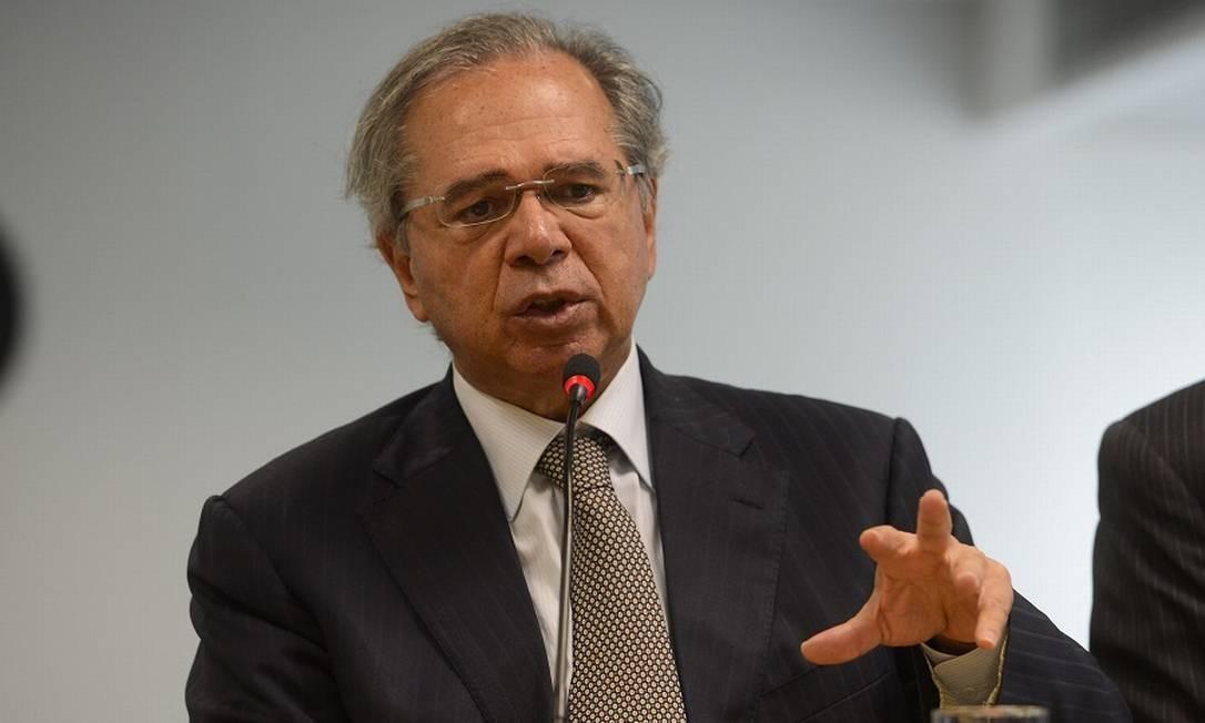 O ministro da Economia, Paulo Guedes: governo tem disposição para seguir com as reformas. Foto: Agência O Globo