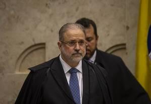 O procurador-geral da República Augusto Aras. Foto: Daniel Marenco / Agência O Globo
