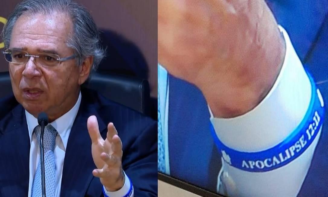 O ministro da Economia, Paulo Guedes Foto: Reprodução