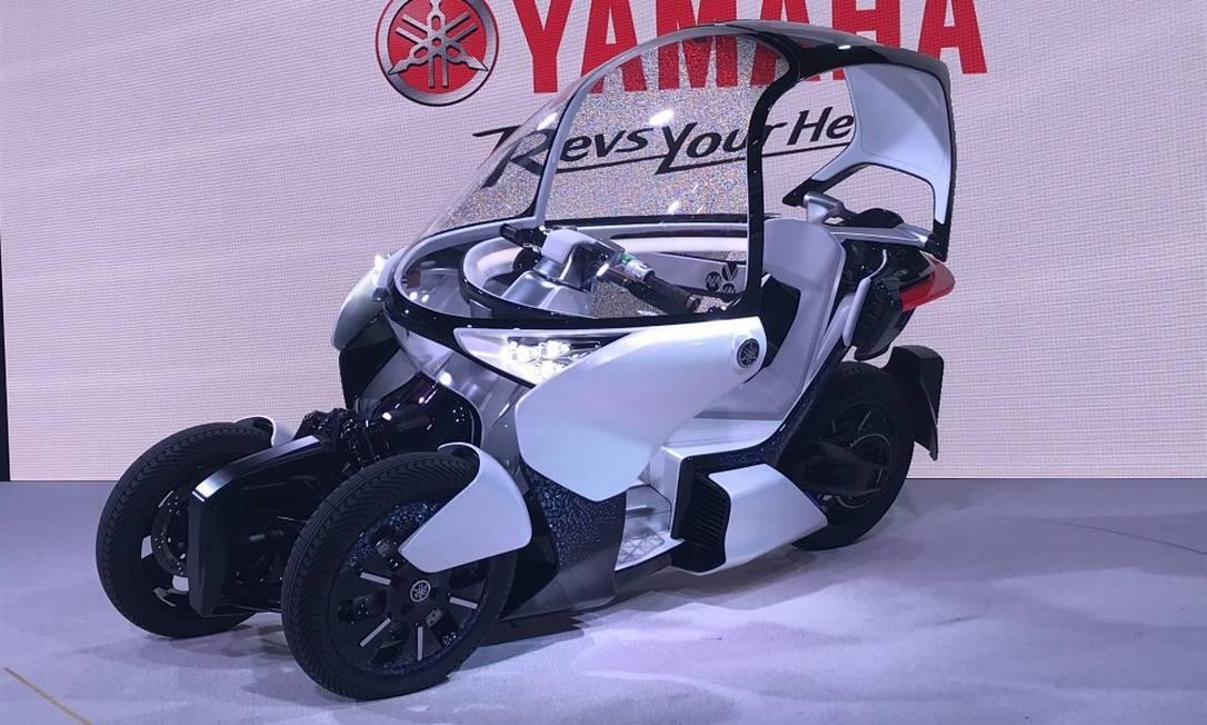 MW Vision: a Yamaha tem apostado em modelos de três rodas e este conceito mostra que mais trikes estão a caminho Foto: Jason Vogel / CarroEtc