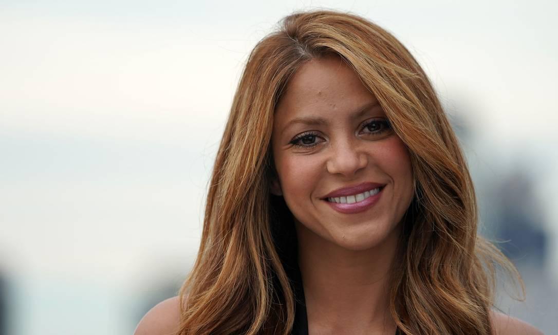 Shakira durante apresentação da Davis Cup, em Nova York, em setembro de 2019 Foto: BRYAN R. SMITH / AFP