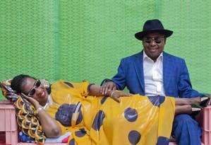A dupla de músicos do Mali Amadou & Mariam, atração do MIMO 2019 Foto: Hassan Hajjaj / Divulgação