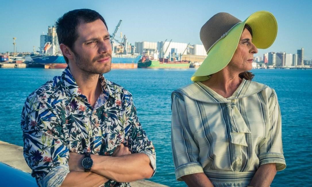 """RS - André Bankoff e Aramis Trindade em cena do filme """"Bate coração"""" Foto: Divulgação"""