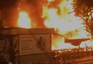 Incêndio atinge Barkana Foto: reprodução/Internet