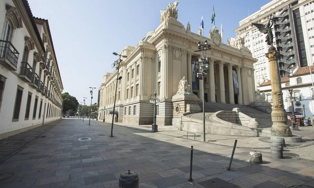 Assembleia Legislativa do Estado do Rio: estado enviará projetos de lei para mexer em fundos. Foto: Agência O Globo