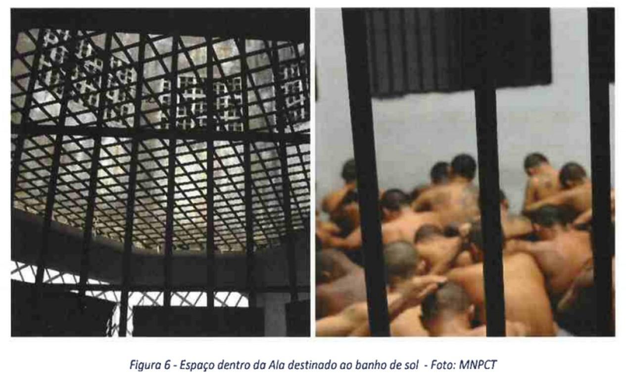 Prisão de Altamira: 'Tortura cotidiana' Foto: Reprodução