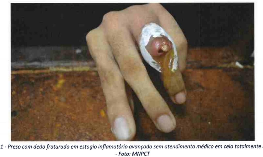 Prisão de Belém: 'Calabouço de tortura' Foto: Reprodução
