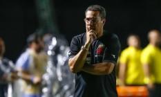 Luxemburgo lamenta a atuação ruim do Vasco Foto: Marcelo Regua / Agência O Globo