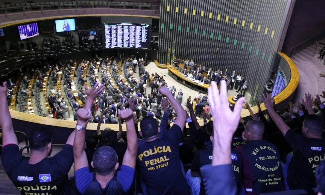 Câmara aprova em 2° turno PEC que cria polícias penais Foto: Luis Macedo/Câmara dos Deputados