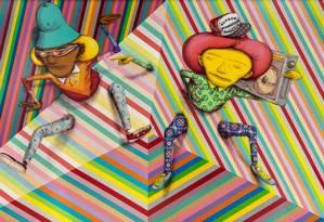Expo Le Parc & Gemeos na Carpintaria Foto: Divulgação