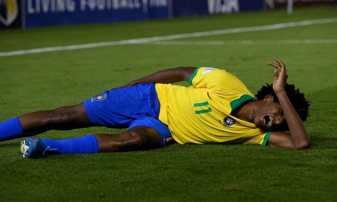 Talles Magno está fora do restante da temporada Foto: Fifa.com