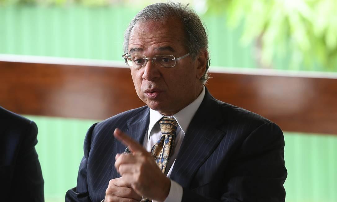 Guedes avalia a mensagem que foi dada com o resultado do leilão: