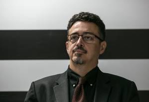 Sérgio Sá Leitão, em seu anúncio como secretário de Cultura de São Paulo, no ano passado Foto: Marivaldo Oliveira/Codigo19 / Agência O Globo