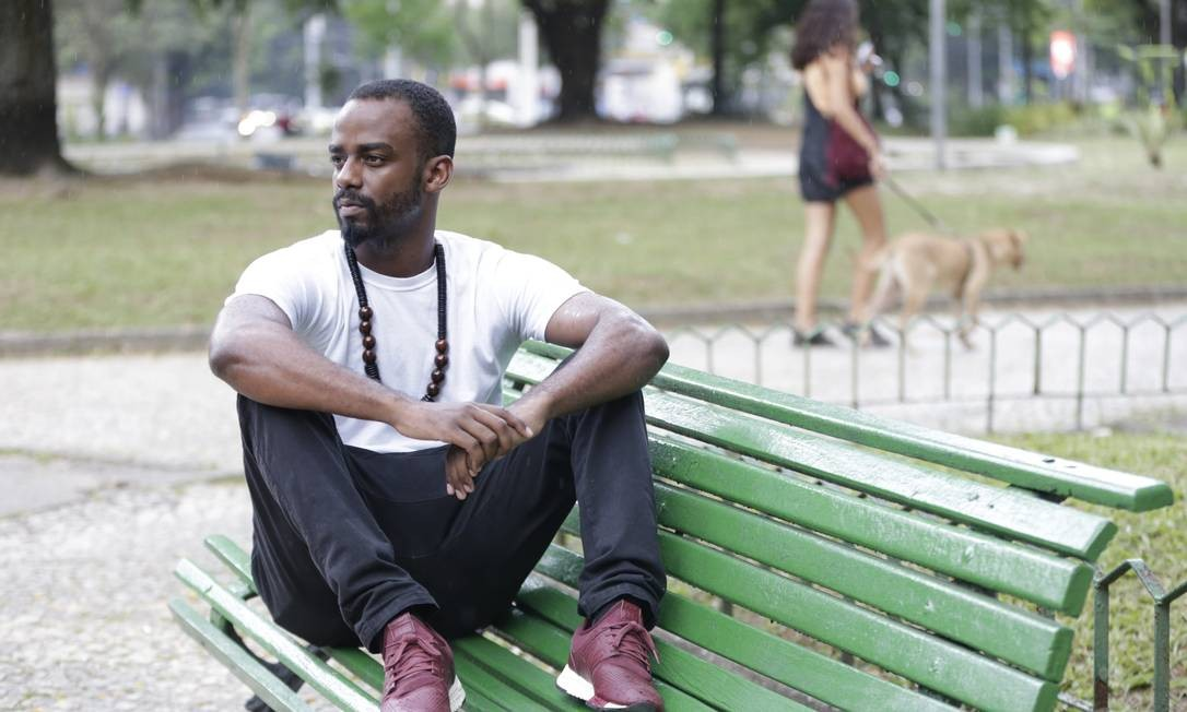"Logam critica a falta de oportunidades para atores negros: ""Só interpretamos motoristas"" Foto: Domingos Peixoto / Agência O Globo"