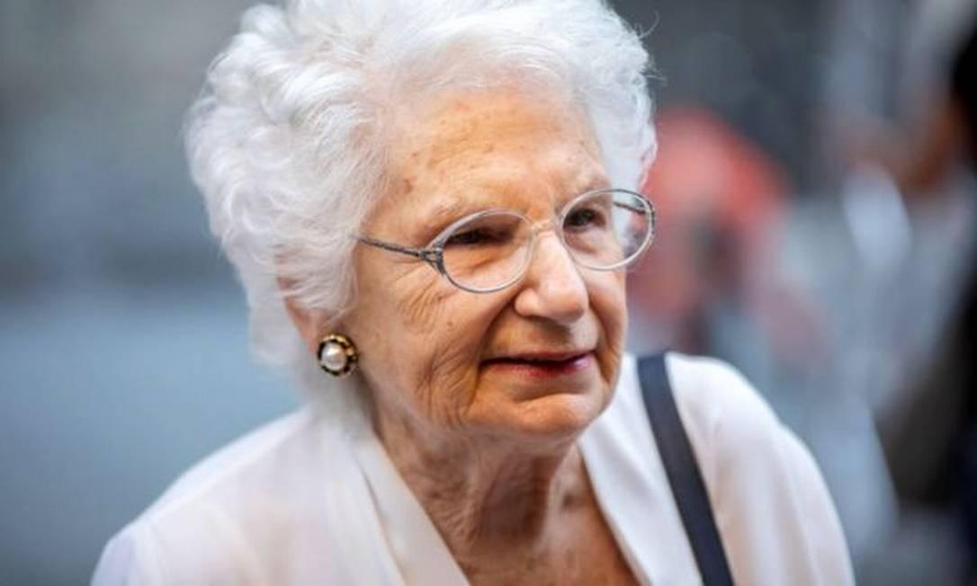 Liliana Segre relatou ter recebido cerca de 200 mensagens de ódio por dia Foto: GETTY