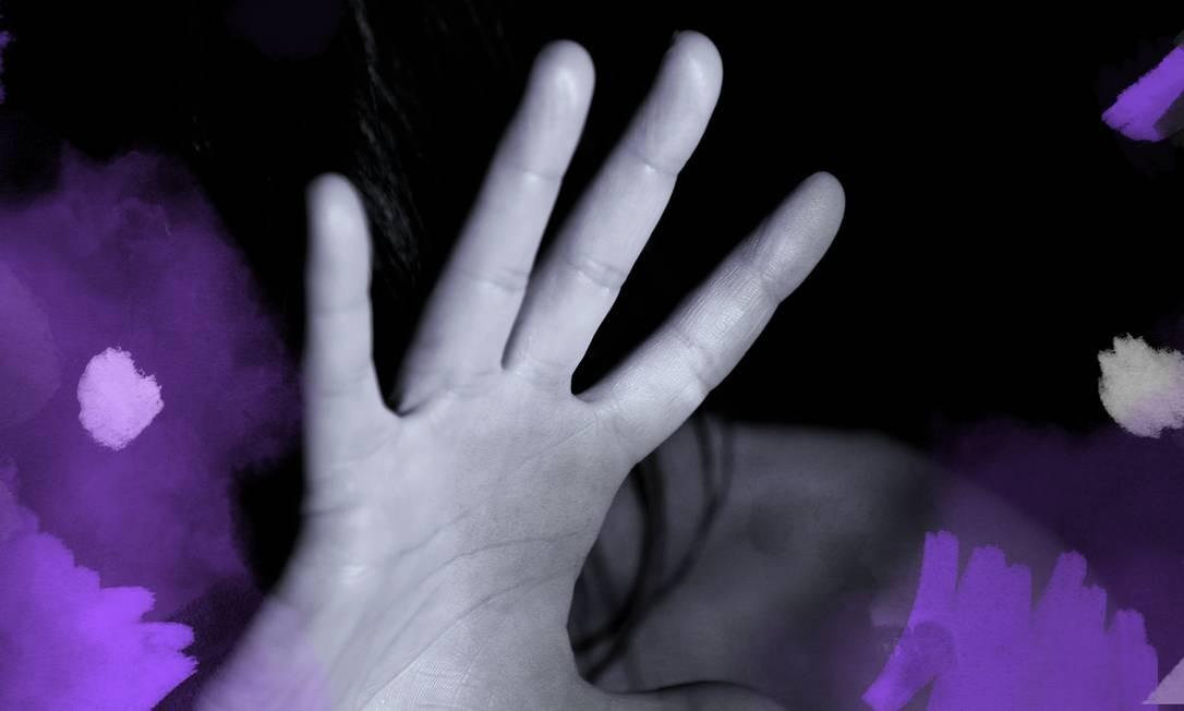 Violência doméstica tem impacto na produtividade da vítima Foto: Arte sob foto Pixabay