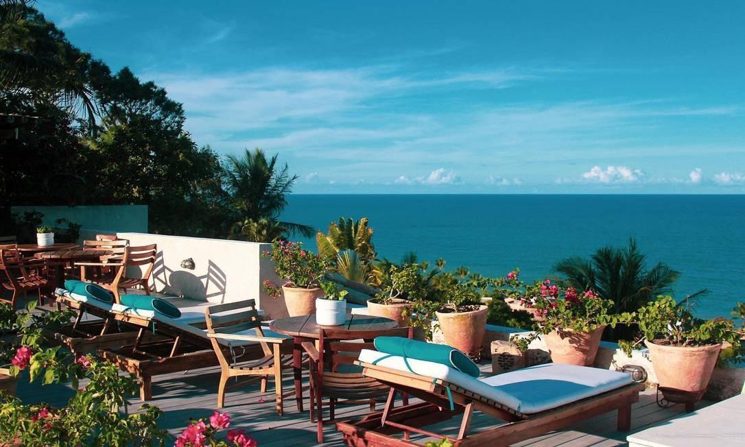 Hotel Maitei, em Arraial d'Ajuda, na Bahia Foto: Divulgação