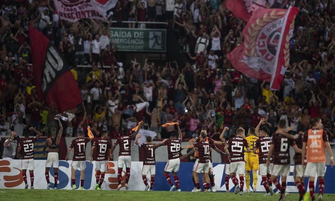Contagem regressiva: Flamengo pode ser campeão brasileiro com mais 13 pontos - O Globo