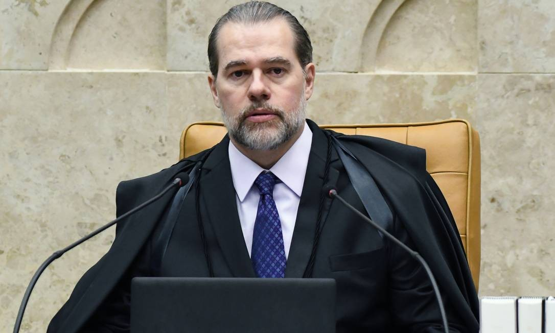 O presidente do STF, Dias Toffoli Foto: Divulgação STF/ CARLOS ALVES MOURA