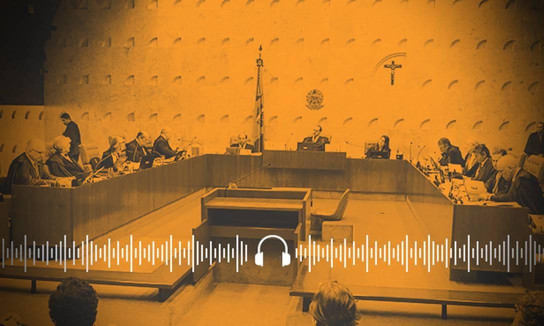 Os bastidores da decisão do STF que reverteu as prisões em 2ª instância Foto: Arte