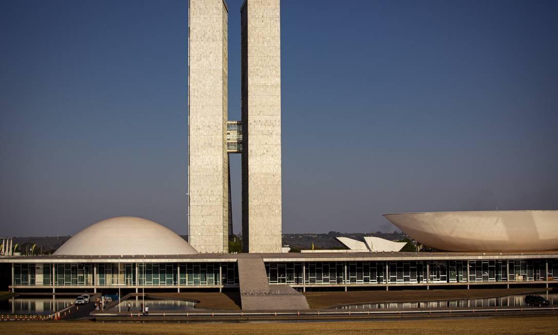 O Cogresso Nacional em Brasília Foto: Daniel Marenco / Agência O Globo
