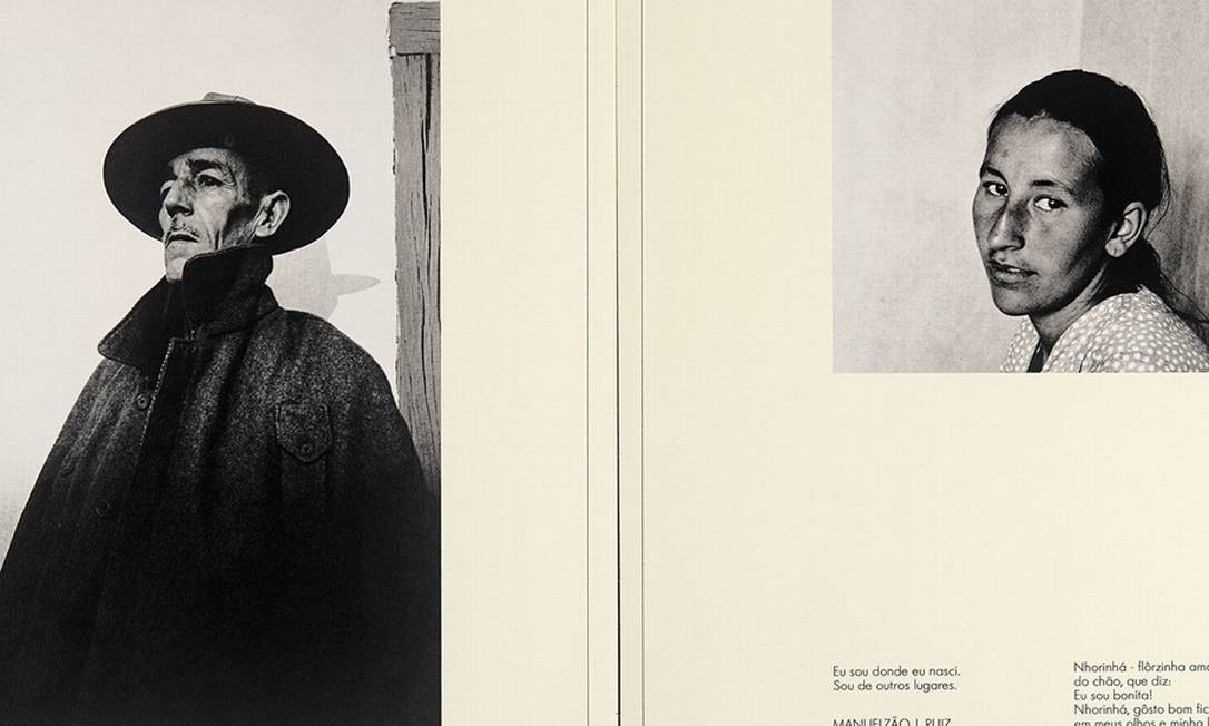 """Dentre os livros apresentados, está """"A João Guimarães Rosa"""" (1969/1974), inspirado em """"Grande sertão: veredas"""". Após ler a obra de Guimarães, Bisilliat decidiu registrar o sertão mineiro Foto: Divulgação"""