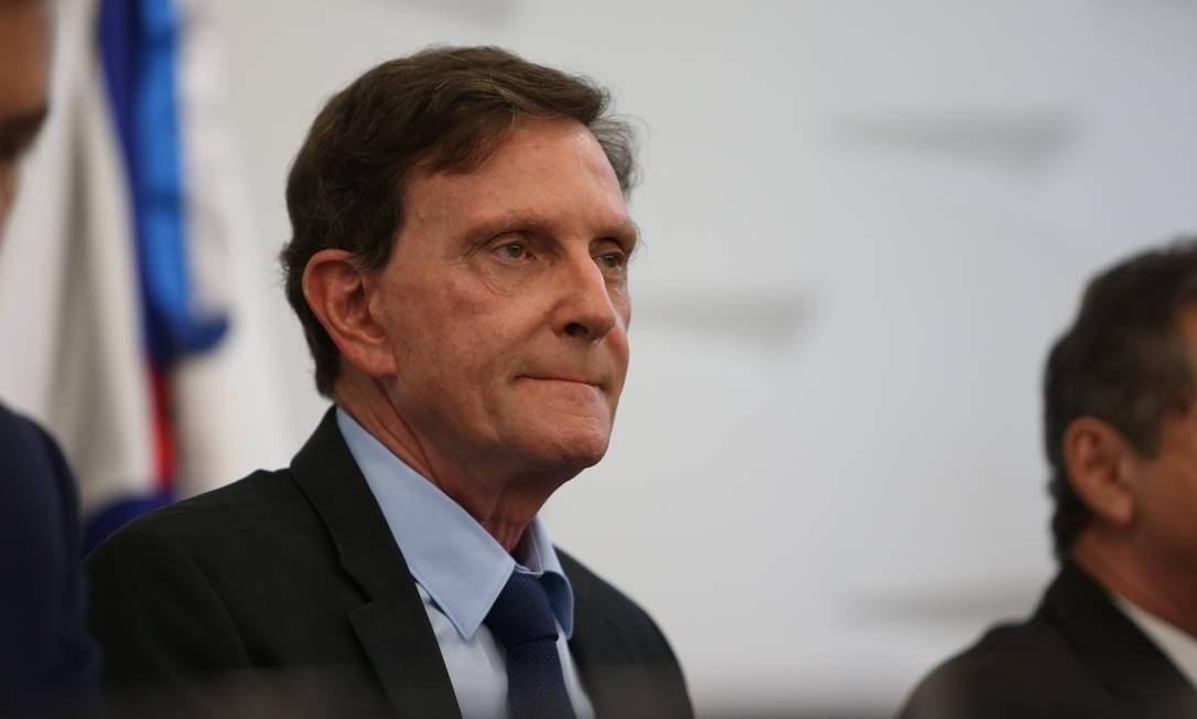 Marcelo Crivella, prefeito do Rio Foto: Pedro Teixeira / Agência O Globo