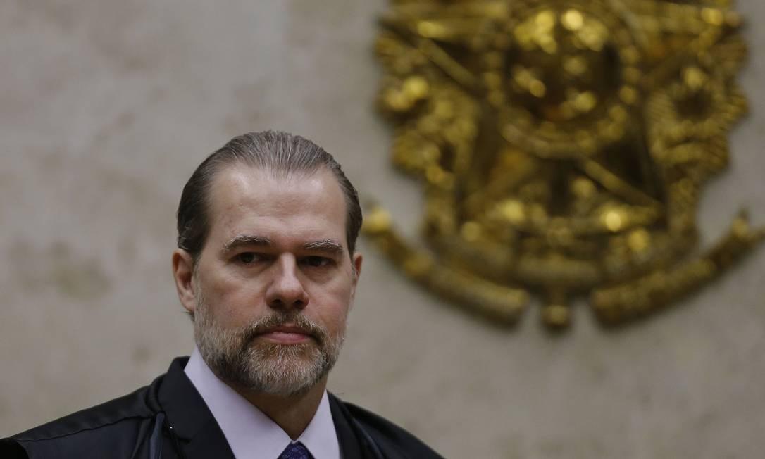 O julgamento no plenário do STF está marcado para a quarta-feira da semana que vem Foto: Jorge William / Agência O Globo