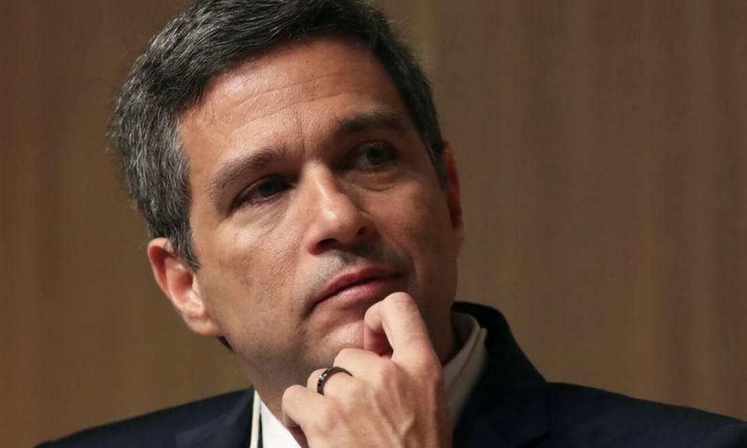 Presidente do Banco Central, Roberto Campos Neto Foto: Reuters