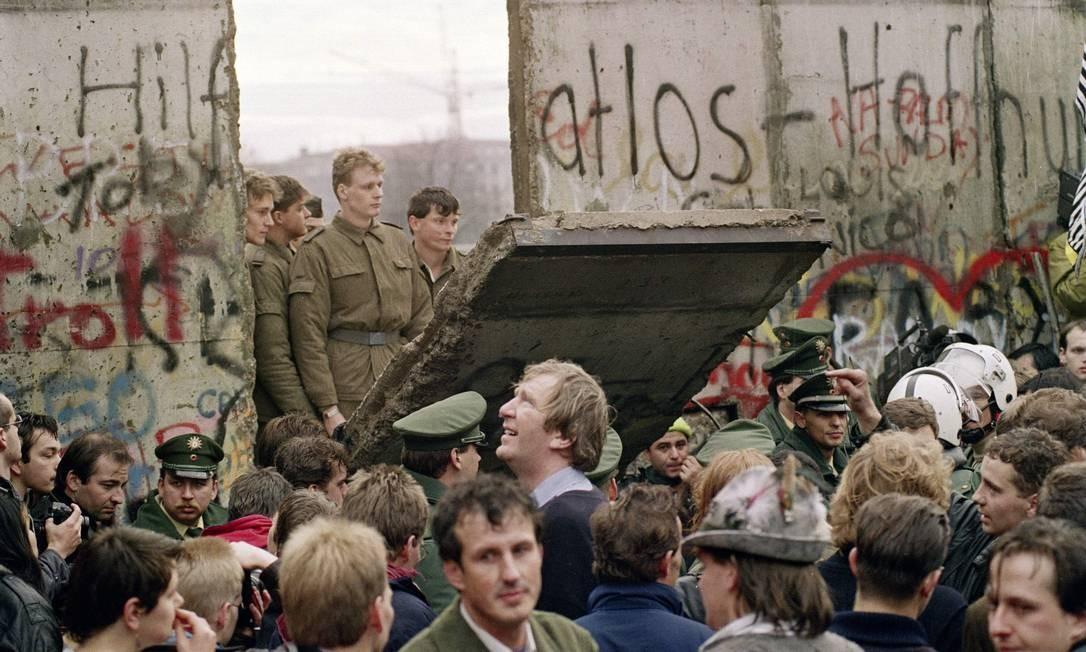 Queda do Muro de Berlim: o dia em que o mundo mudou - Jornal O Globo