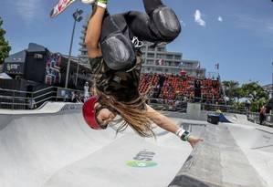 Skate. STU Open, que terá atletas como Dora Varella, agitará a Praça do Ó Foto: Divulgação/Pablo Vaz / divulgação/páblo vaz