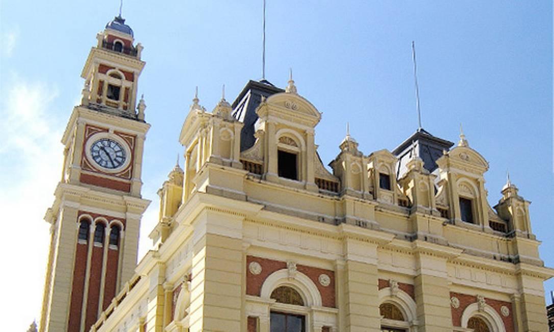Fachada da Estação da Luz, edifício histórico que abriga o Museu da Língua Portuguesa. Fonte: Divulgação Foto: Divulgação