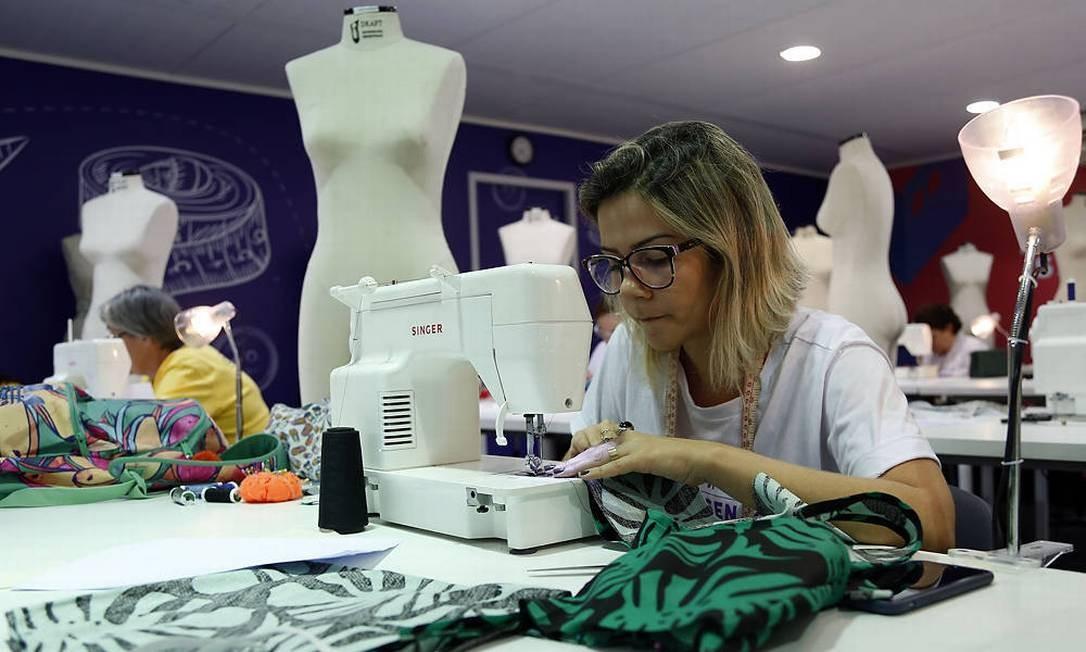 Capacitação. O curso de moda é um dos mais procurados do Senac Foto: Divulgação / Divulgaçãp