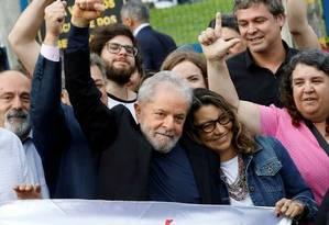 Ex-presidente Lula Foto: RODOLFO BUHRER/Reuters